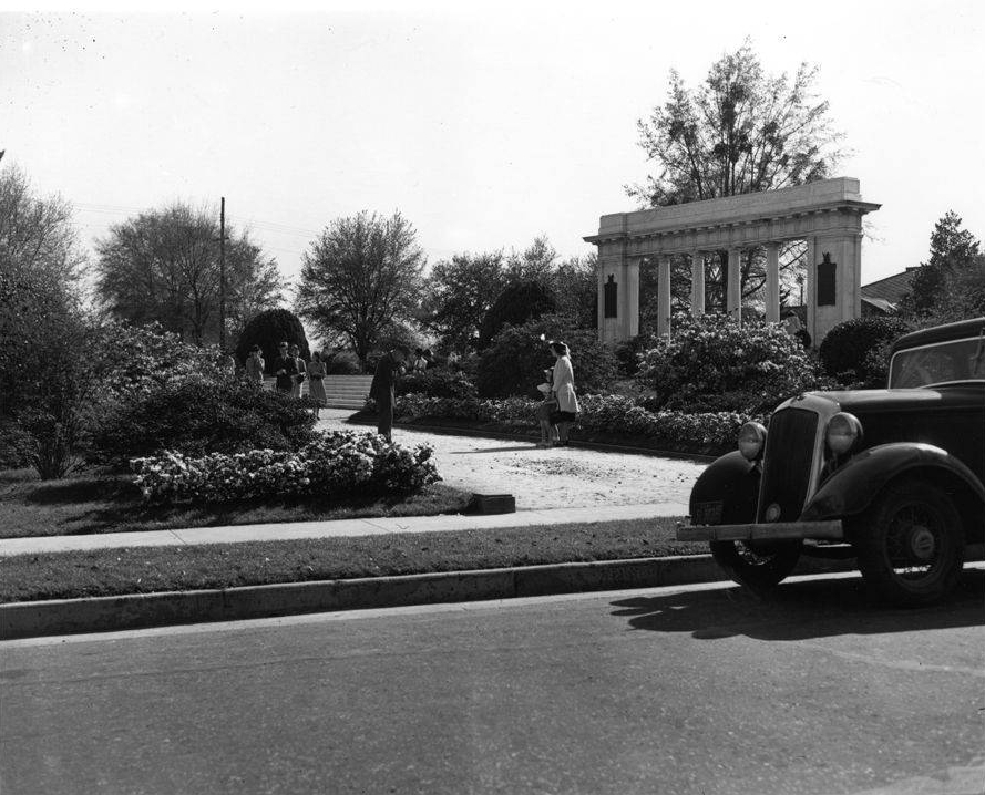 Memorial Park, c.1936
