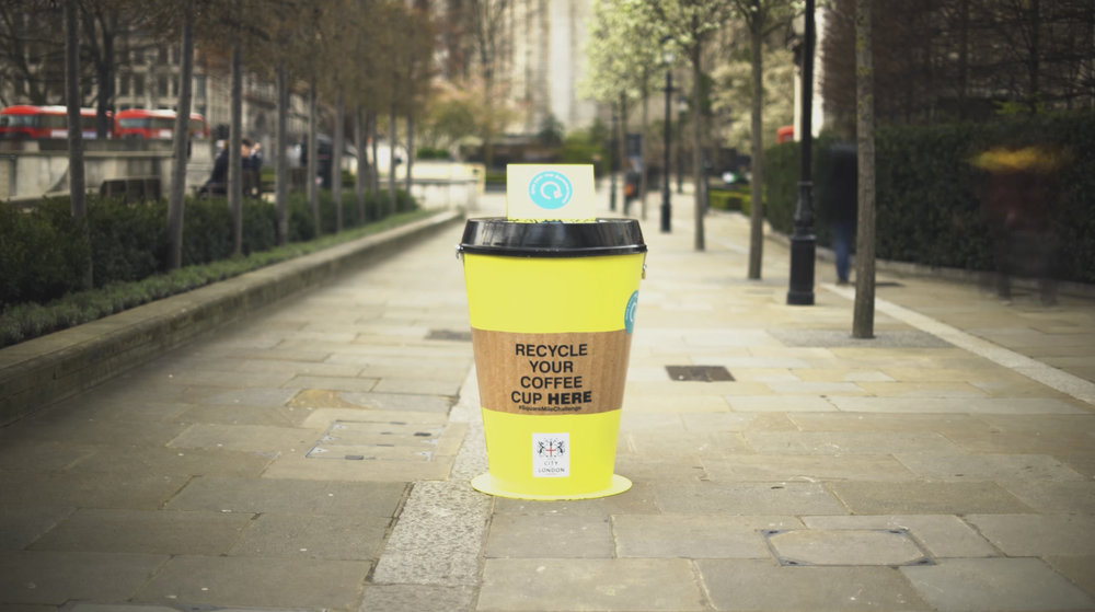 Hubbub | Coffee Cup Recycling Campaign