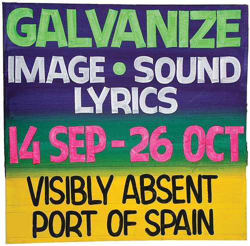 Galvanize Poster for CCA7, Bruce Cayonne