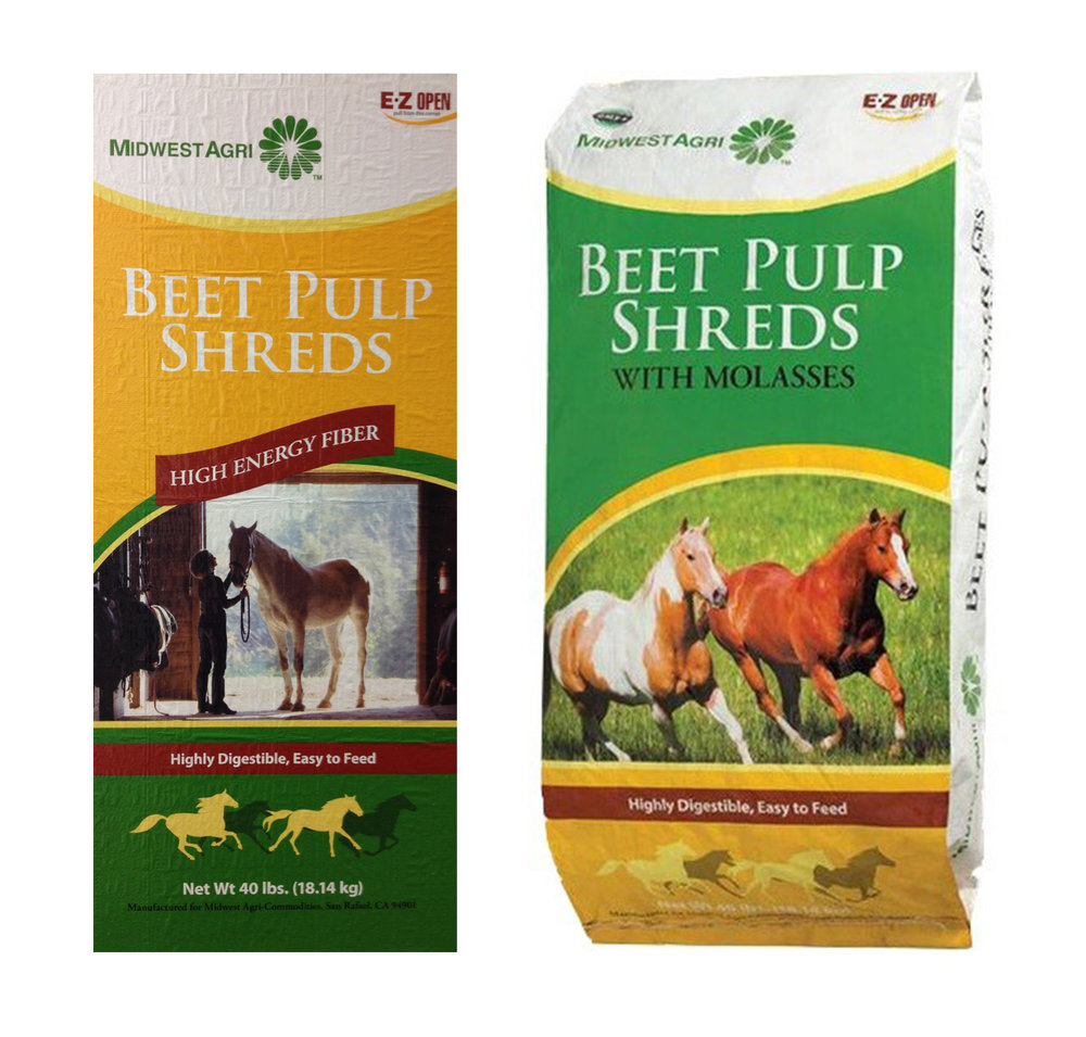 Bagged Beet Pulp Shreds