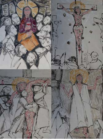 Jesus (4 parts)