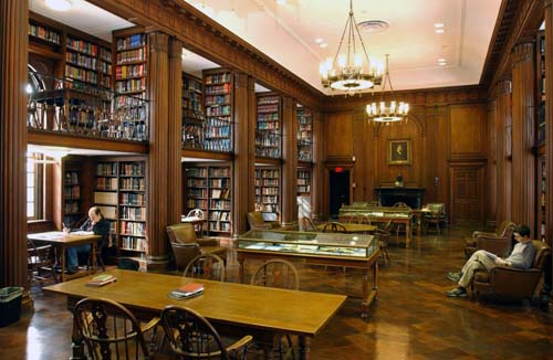 Day Missions Library (image courtesy of Yale Divinity School)