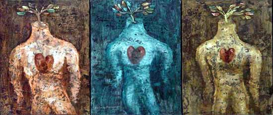 Trees of Love (Triptych)
