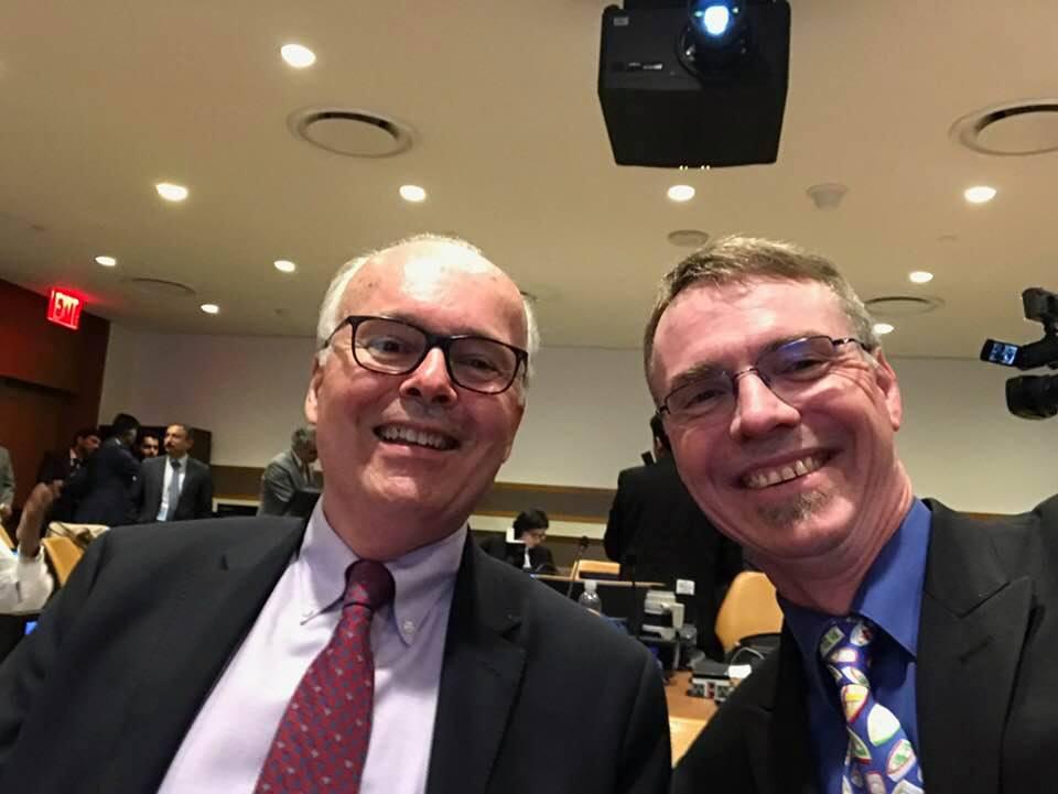 Tom and Rob at UN.jpg