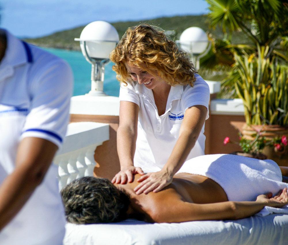 Couple's Massage, Turks & Caicos