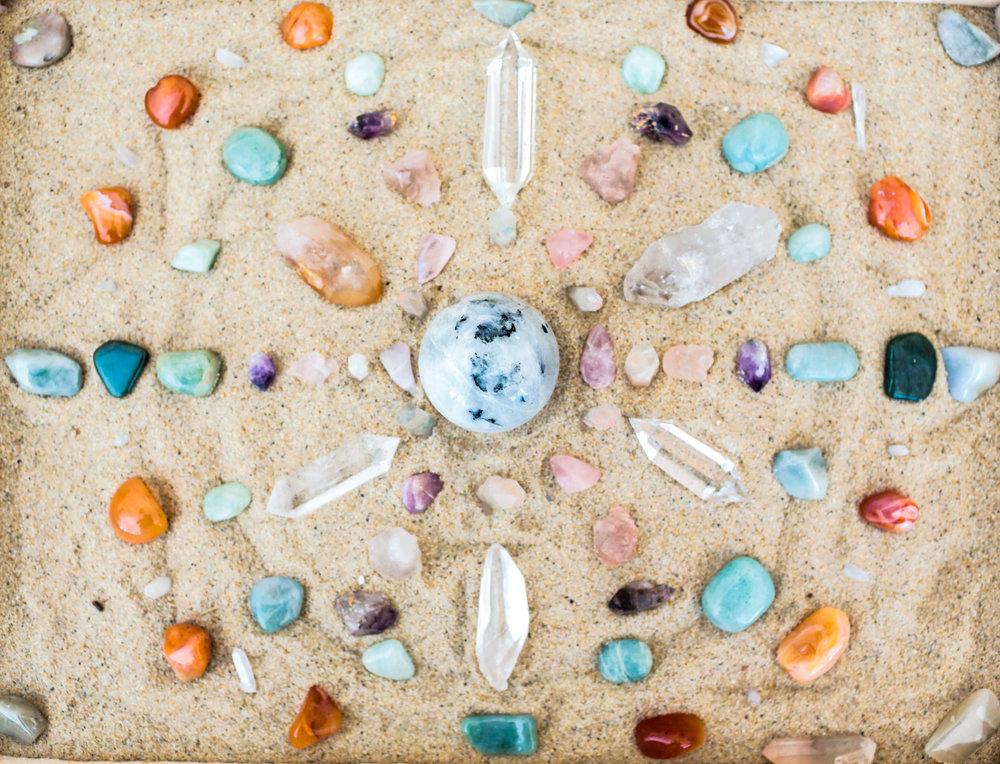 Crystal Layout / Sand Mandala