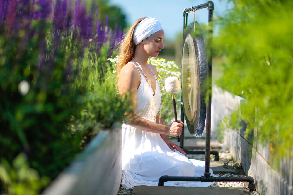Garden Gong Meditation