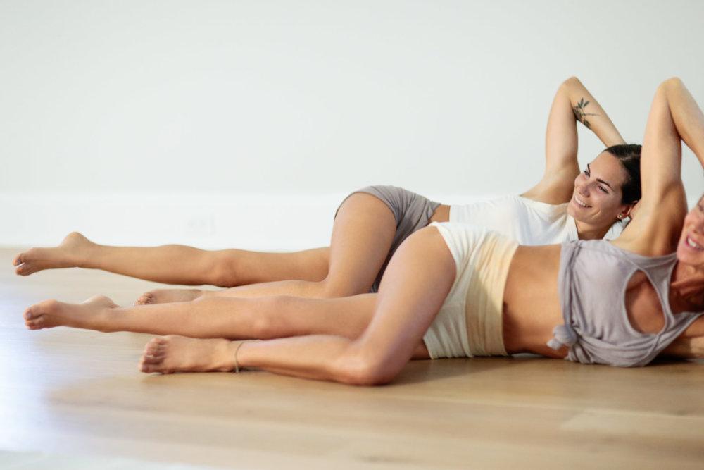 Yoga and Pilates Routine