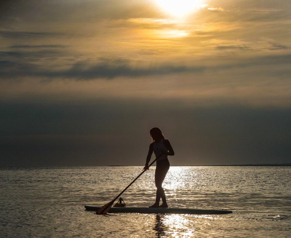 Sunset Paddle, East Hampton