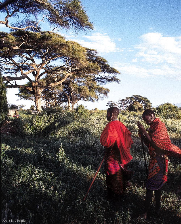 Kenya near Mt. Kilimanjaro