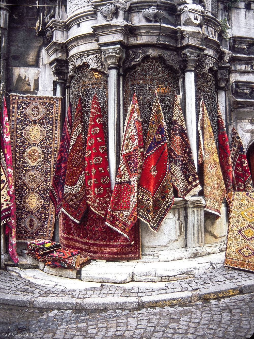 Rugs in Istanbul, Turkey