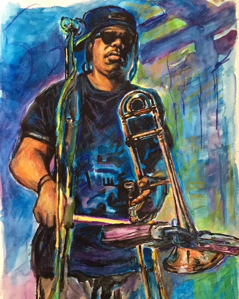 - Gregory Veals - Rebirth Brass Band