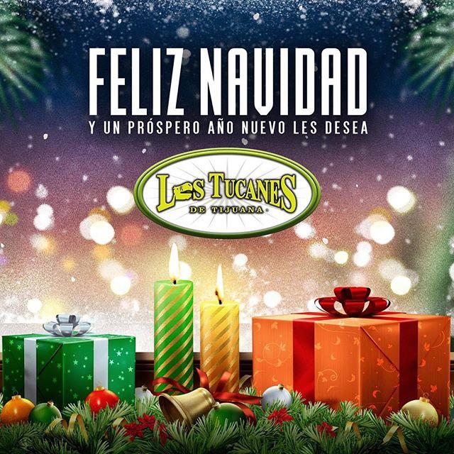 Que pasen una muy feliz navidad en compañía de toda su familia y amigos!#feliznavidad #LosTucanesDeTijuana #tucanes #lostucanes #TucanesDeTijuana