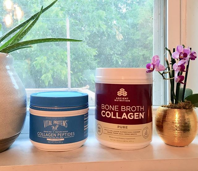 Finally got around to finishing up the various collagen supplements I bought to experiment with, ad I have two clear winners! Check the blog for my thoughts on collagen in general and why these two were my favorite.  Link in profile! . . . #supplements #nutritionsupplements #collagen #collagensupplement #collagensupplements #antiaging #skincare #skincareroutine #healthyskin #healthyskinfromwithin #skincarefromtheinsideout #naturalskincare #healthyliving #healthblogger #skincareblogger #healthyskin #healthyskinstartsinthekitchen #feedyourskin #feedyourface #antiagingdiet #healthychoices #productreview #productreviews #supplementreviews