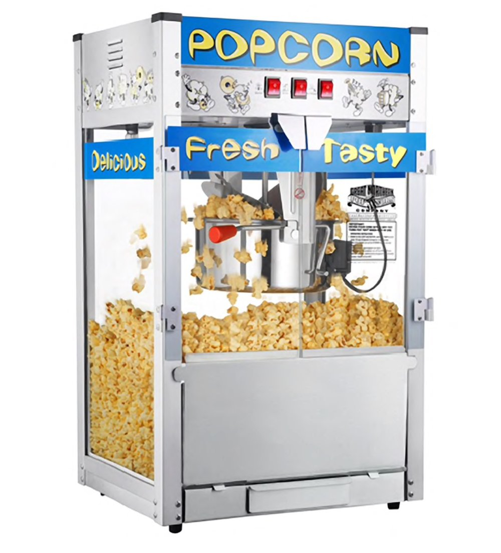 Popcorn Machine45.00 - Supplies for 50 servings 15.00