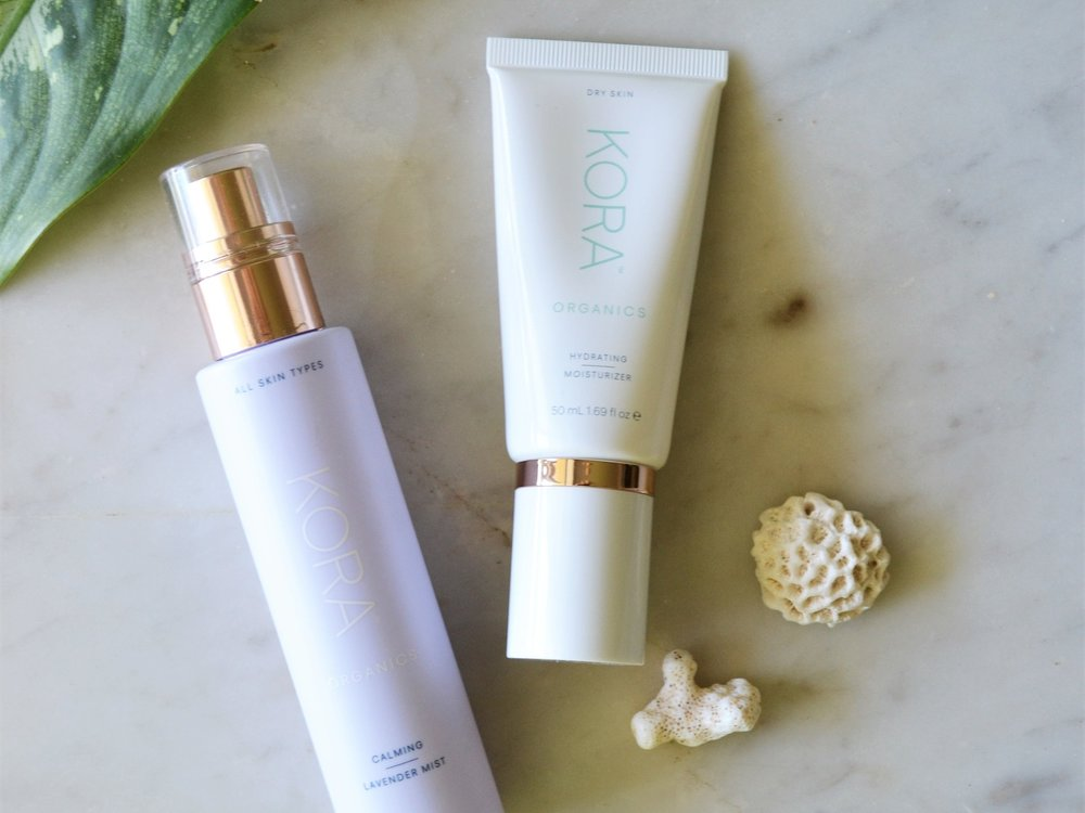 Hydrating Moisturizer - It's easy for our skin to become dehydrated when traveling, so it's vital to have a good moisturizer that will nourish and re-hydrate our skin. The key ingredient in KORA Organic's products is noni, which helps to prevent against inflammation and breakouts.