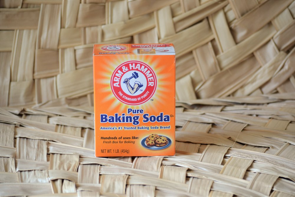 Baking Soda - Nothing will get the grit off like water and baking soda.  Mix 1 TBS of baking soda with 1/2 cup of water to clean your oven, tub, sink, and other grimy spaces.  Baking Soda can also act as an air purifier - simply leave 3 - 5 TBS in a small dish in the smelly room for 30 - 60 minutes.  You can also toss some in your trash-can to help absorb the smell.