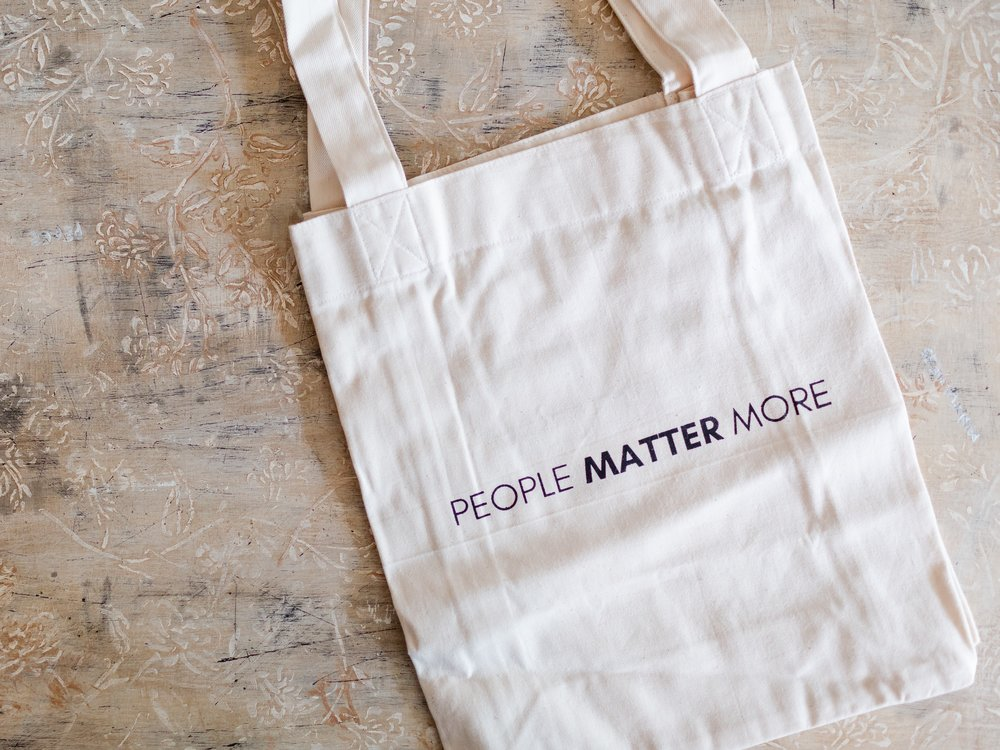 People Matter More Tote - I'll be honest… I can never have too many canvas totes! This one from Made is the newest addition to the family and is going to be a part of a special TAG GIVEAWAY over on Instagram starting December 6th!