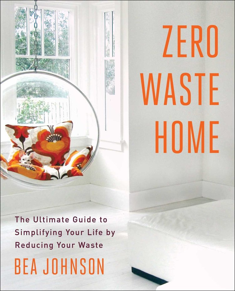 Zero Waste Home - For those who are looking to adopt a simpler, more sustainable lifestyle this is the book for them. While there is certainly an emphasis on creating a zero waste home author Bea Johnson also discusses how to live with less, going room by room and offering practical advice.
