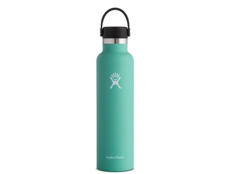 Hydro Flask Standard-Mouth Water Bottle - This water bottle is great for those who are on the go. What I love most about it is how it seriously does not leak. I can fill it up, throw it in my bag and head out the door worry free. Another great feature is that due to it's double-wall vacuum insulation, this water bottle keeps contents hot or cold for hours
