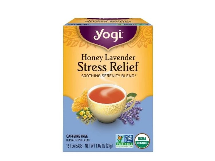 Yogi Honey Lavender Stress Relief Tea - Along with fresh flowers, Yogi's Honey Lavender Stress Relief tea is one of my go-to's when it comes to gifts for my loved ones. Whether their going through a challenging time, struggling with anxiety, or having trouble sleeping at night this tea is always a welcome relief. It pairs beautifully with a gift card to a spa or with a fresh bouquet of flowers, when given as a gift.