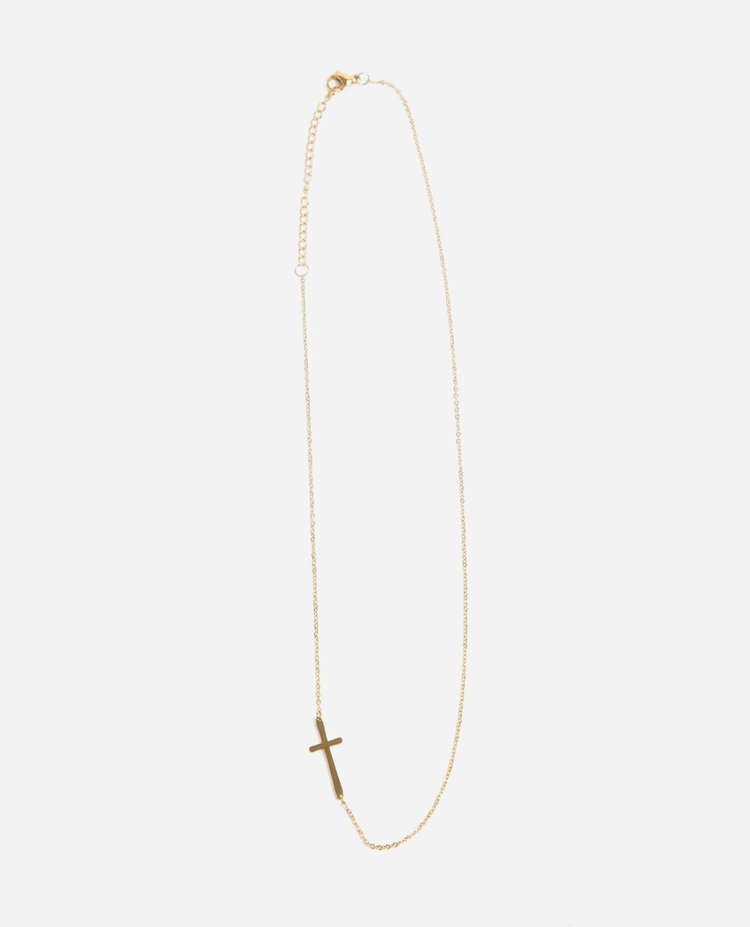 Belief Necklace - Each Storyline piece captures a feeling, attribute, or aspiration and gives opportunity to a woman across the globe. This delicate necklace says,
