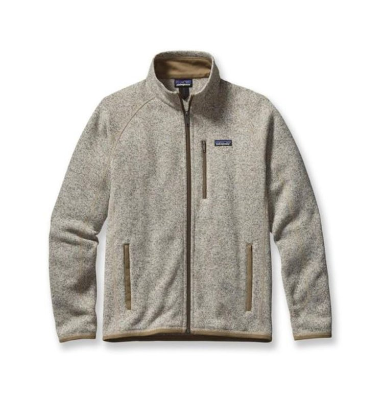 Patagonia Better Sweater Fleece - With a sweater-knit face and fleecy interior for warmth, this go-anywhere men's jacket works equally well as urban outerwear or layered in the backcountry under a shell.