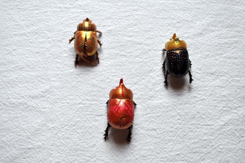 Altered Beetles (Rhinoceros beetle), 2009