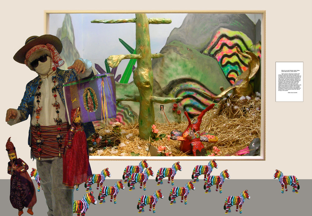 Vendor Personality: A Trip to the Museum, 2009 Digital Collage