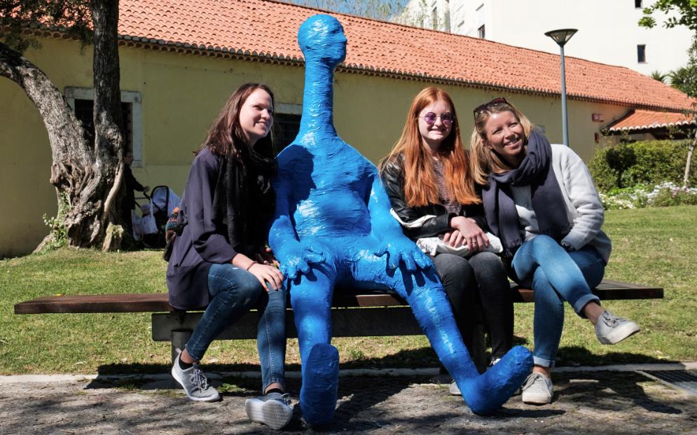 Descubra os bonecos de Robert Panda no Jardim de Telheiras #lisbonweek #robertpanda #lumiar