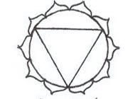 Yellow - Solar plexus, third chakra:Symbolizes mental activities, intellect, personal power, will.