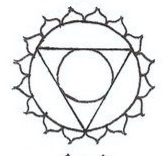 Blue - Throat, fifth chakra:Symbolizes self expression, expression of truth, creative expression, communication, perfect form and patterns.