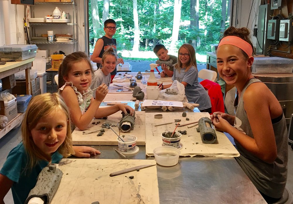June Summer Clay Camp