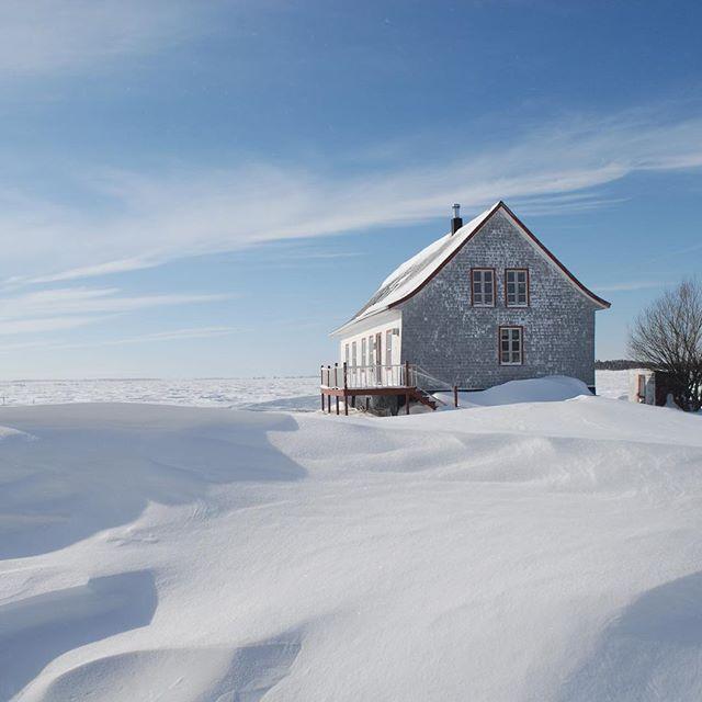 Tournage à l'Isle-aux-Grues en Janvier 2015. ❄️❄️❄️ #stealingalice #marcseguin #isleauxgrues