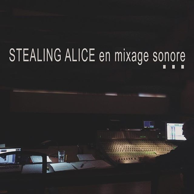 Petite photo souvenir de Stealing Alice en mixage. #stealingalice #marcseguin @sound_chick