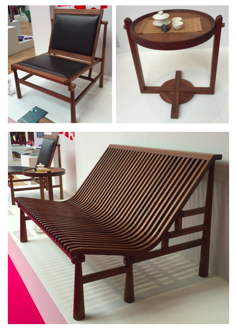 Walnut furniture by Yoson Furniture Design Co ltd (based in china) has beautiful lines and fine craftmanship