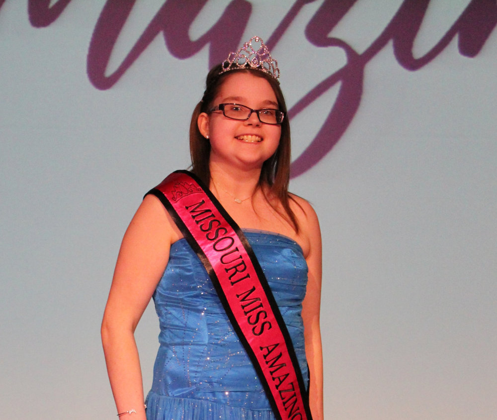 Missouri Miss Amazing Jr. Miss  | Leanne Ketchum   Click to read more about Leanne!