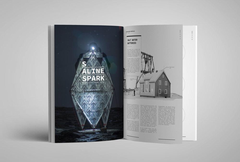 Julien Nolin Architecture Portfolio Saline Spark Cover