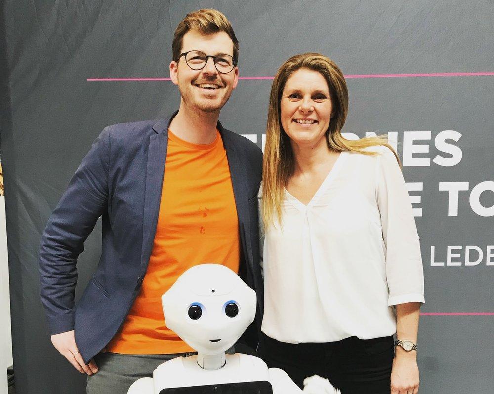 Ledernes Konference forårs tour med robot.JPG