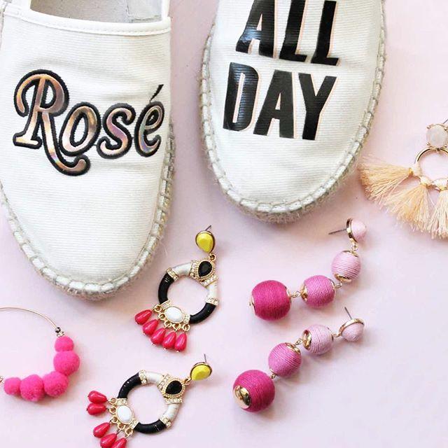 On Wednesdays we wear pink & statement ears 💖