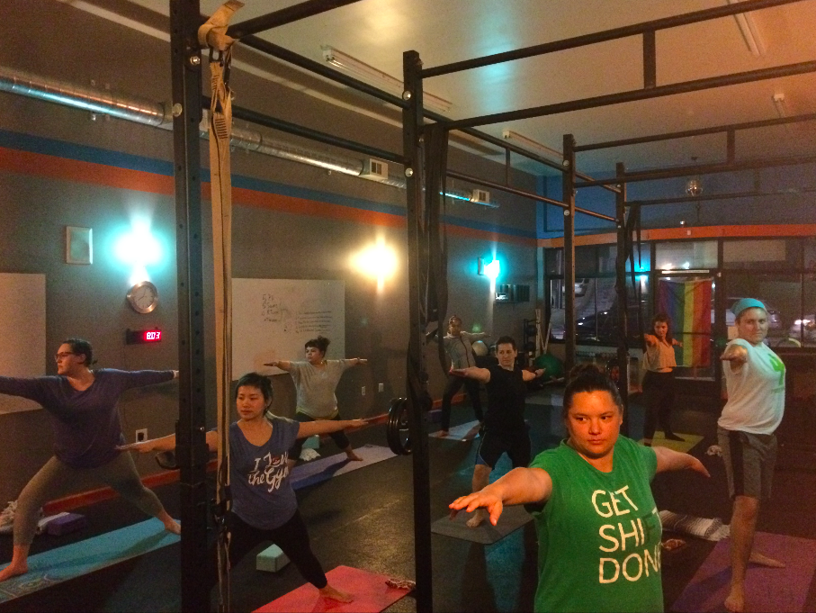 Queer Gym Yoga For EveryBody