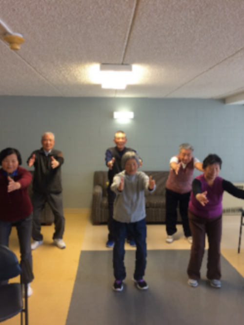 St. Andrews Senior Yoga Class (via St. Mary's Center)