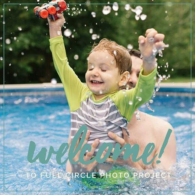 We're so excited we can hardly contain it! The new website is live! I can't wait to share my heart for photography and motherhood with all the mamas out there. Get your cameras ready! #fullcirclephotoproject