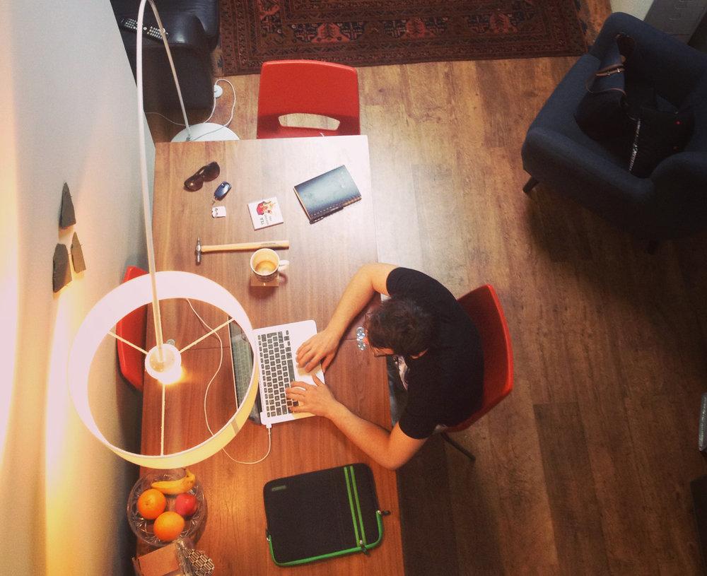 Kelsall Architects design studio