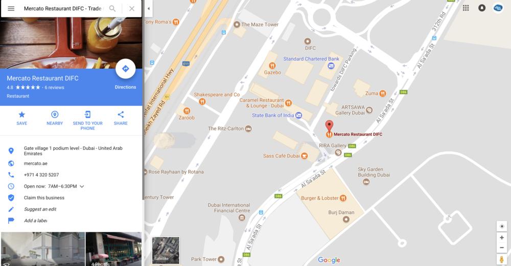 Click to locate `Mercato Restaurant