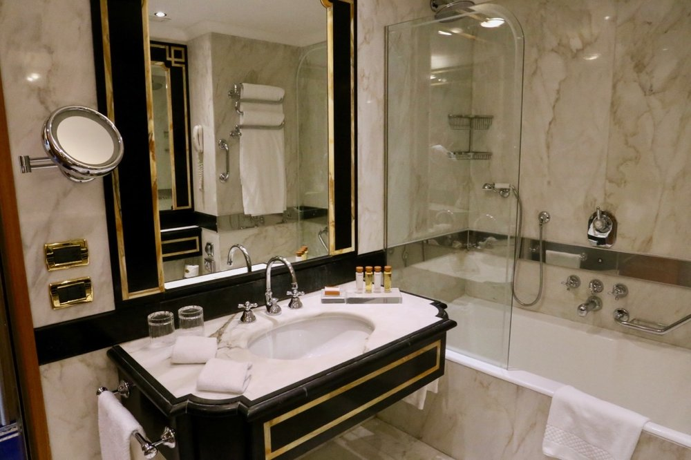 The beautifully appointed ensuite