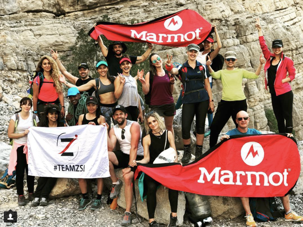 Big thanks to Zsi Trading for getting this group together for our hike (photo credit : Instagram @zsi_trading)