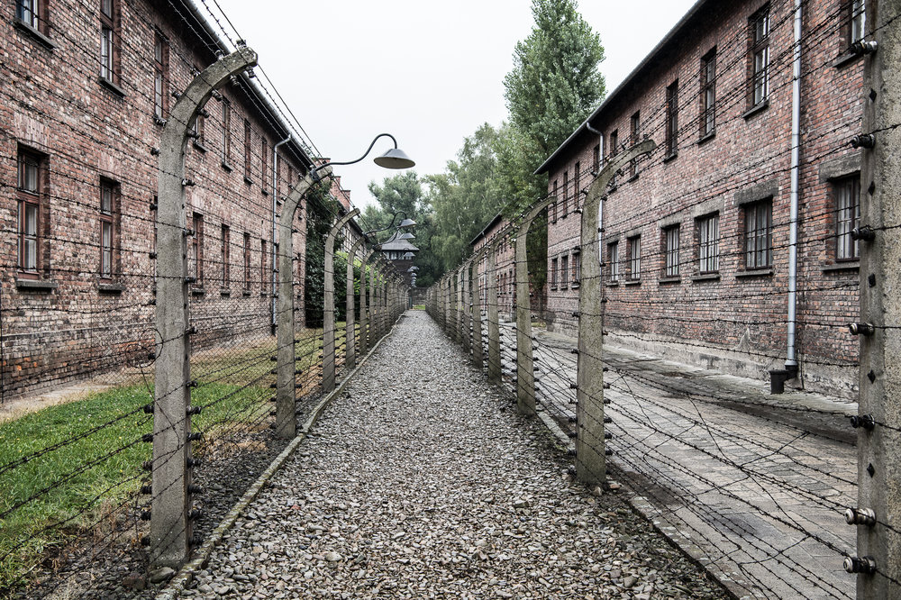 Very sad history at Auschwitz