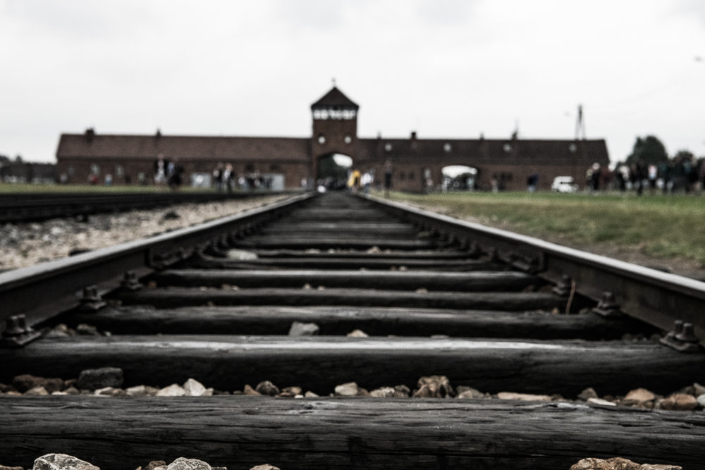 For the majority of prisoners, arriving at this platform in Birkenau led to a very sad end.