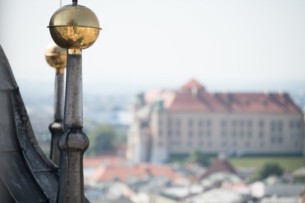 Views from the top of Wawel Castle